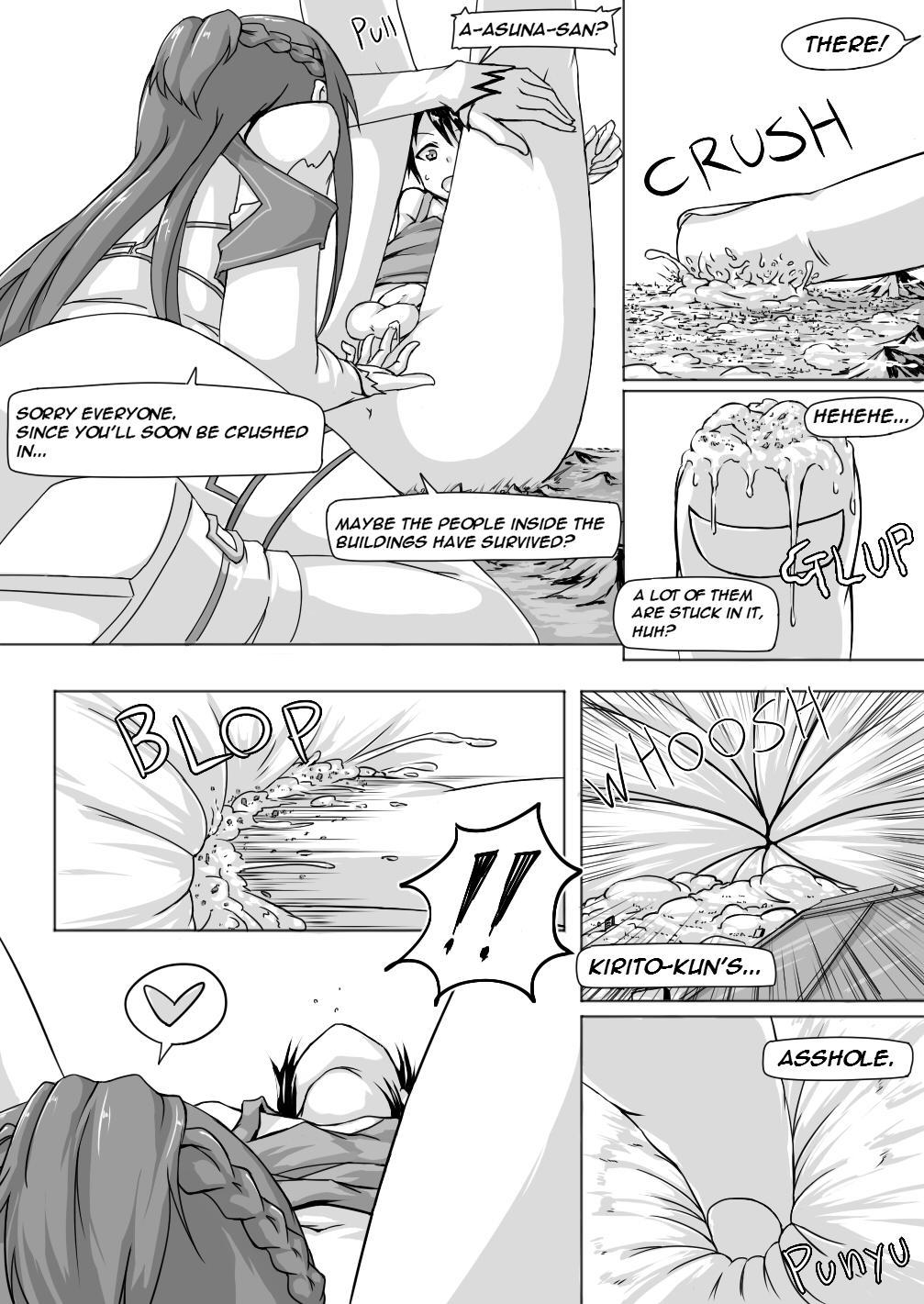 Size Henkou de Asuna ga Yaritai Houdai Online Japanese + English 20