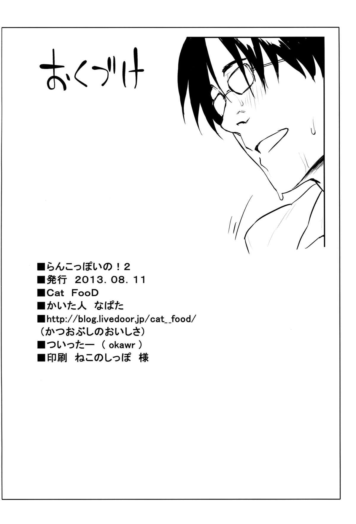 (C84) [Cat Food (NaPaTa)] Ranko-ppoi no! 2 | Ranko-Ish! 2 (THE IDOLM@STER CINDERELLA GIRLS) [English] [Life4Kaoru] 20
