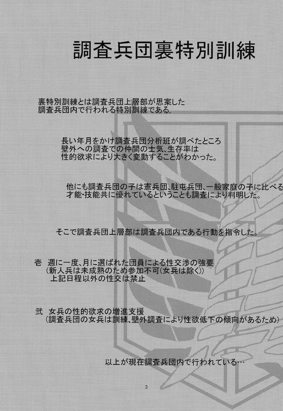 Chousa Heidan Ura Tokubetsu Kunren 2