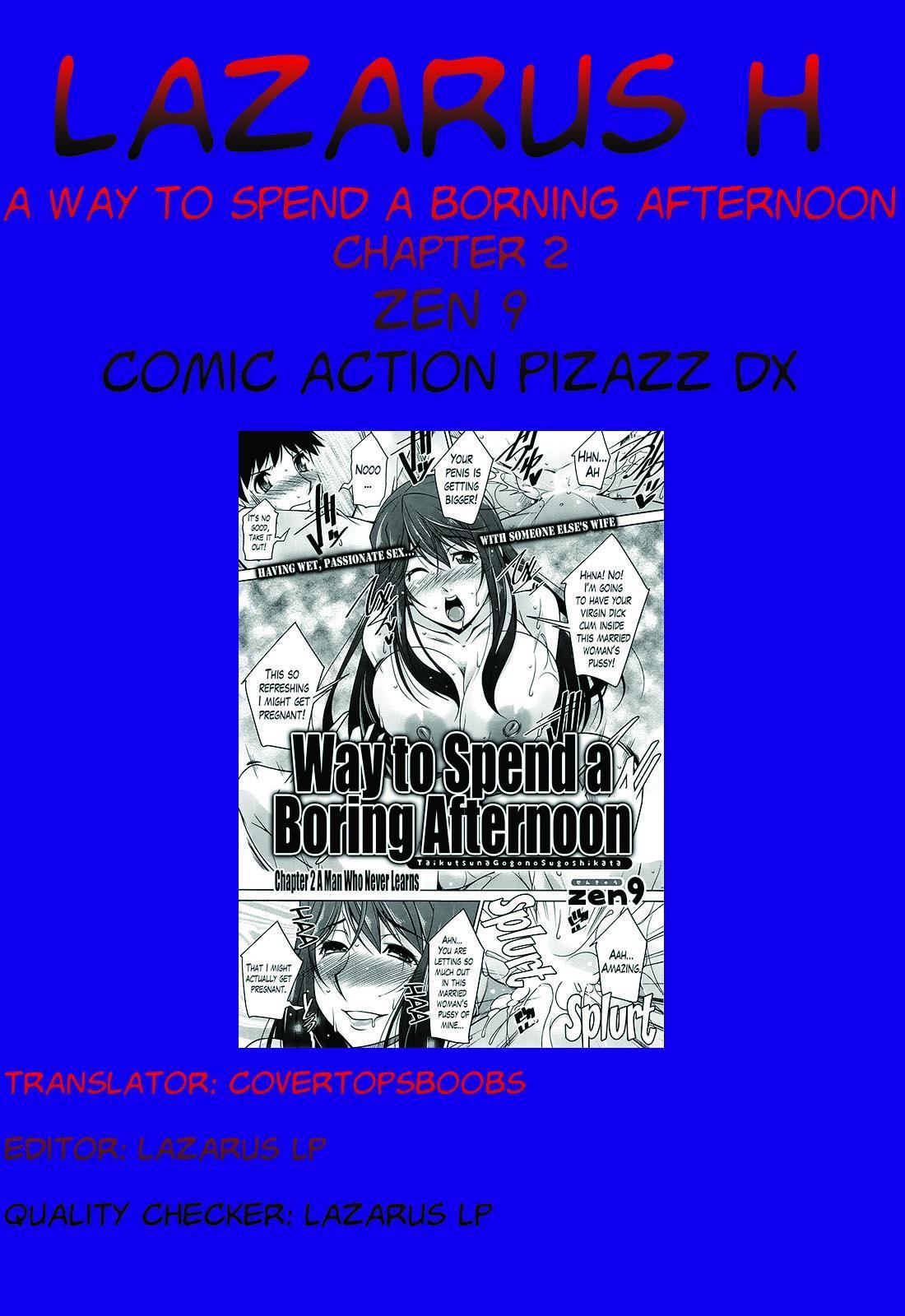 [Zen9] Taikutsu na Gogo no Sugoshikata Ch. 1-5   A Way to Spend a Boring Afternoon Ch. 1-5 (Action Pizazz DX 2013-12) [English](hentai2read.com)[Lazarus H] 38