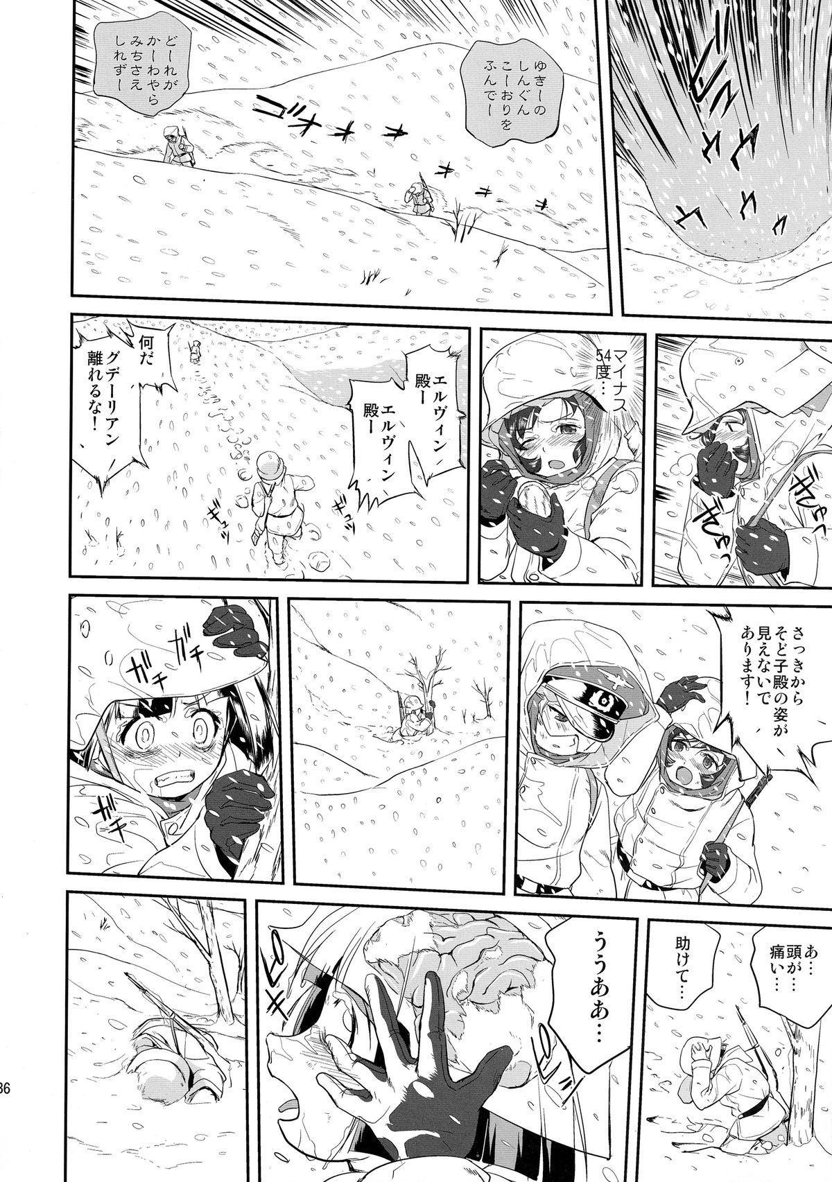 Yukiyukite Senshadou Battle of Pravda 35