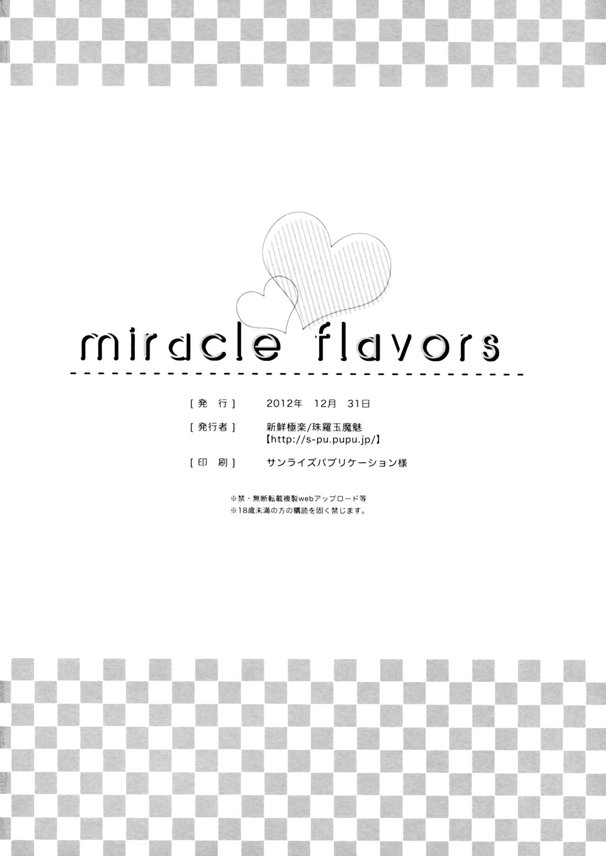 Miracle Flavors 28