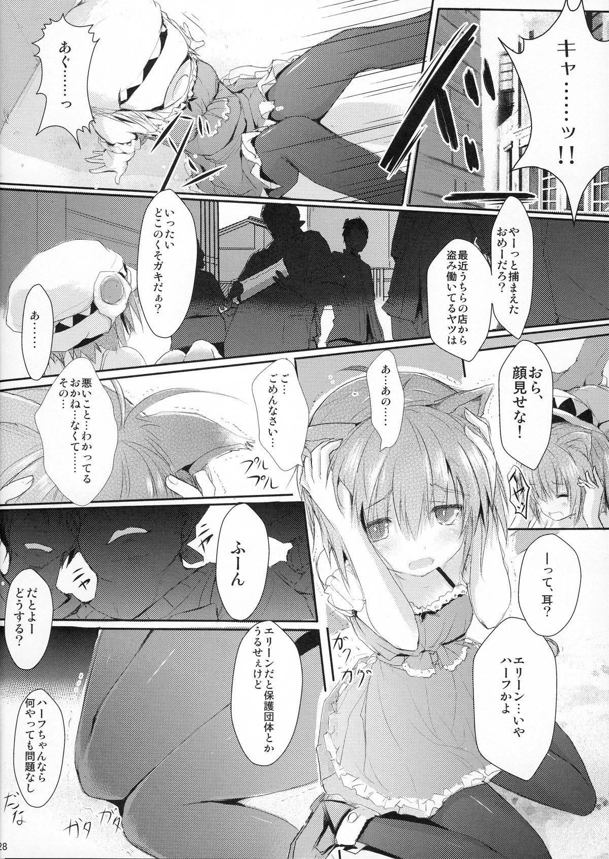 [Mirukomi (PRIMIL)] Human wa Erin-chan ni Hidoi Koto Shitai yo ne - ELIN's the best - (TERA The Exiled Realm of Arborea) 27