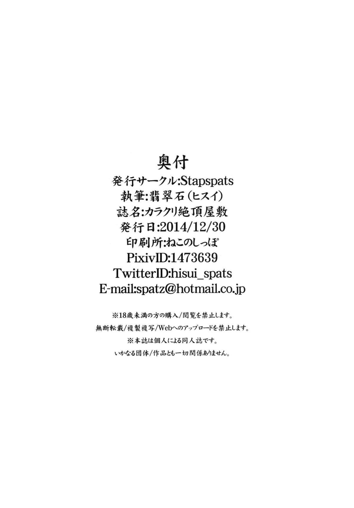 Karakuri Acme Yashiki 21