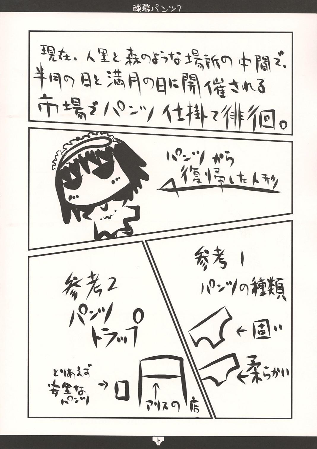 弾幕パンツ7 3