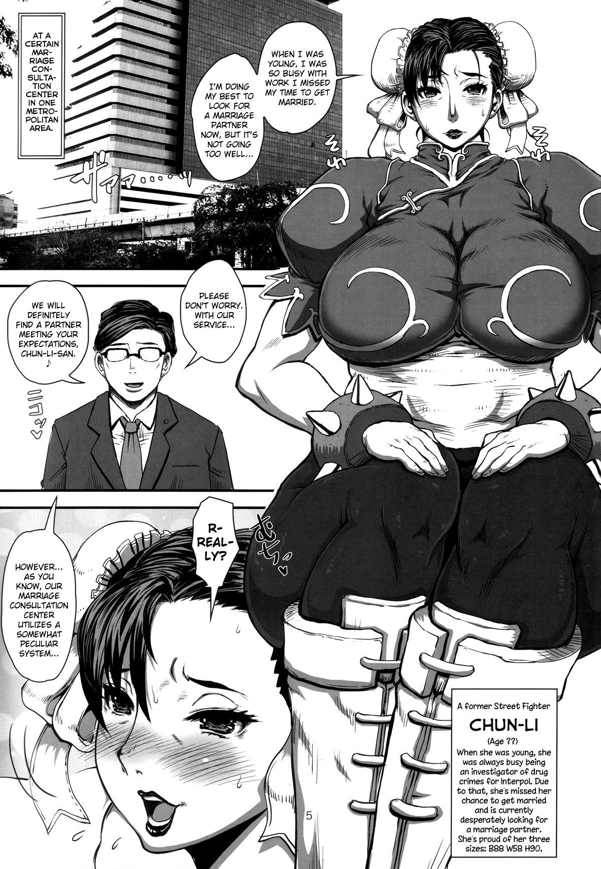 (C87) [8graphica (Yoshitama Ichirou, Nanakichi)] METABOLISM Chun-Li A Beautiful and Mature Chun-Li-san has Serious Sex with the Candidates while Looking For a Marriage Partner. (Street Fighter) [English] [biribiri] 3