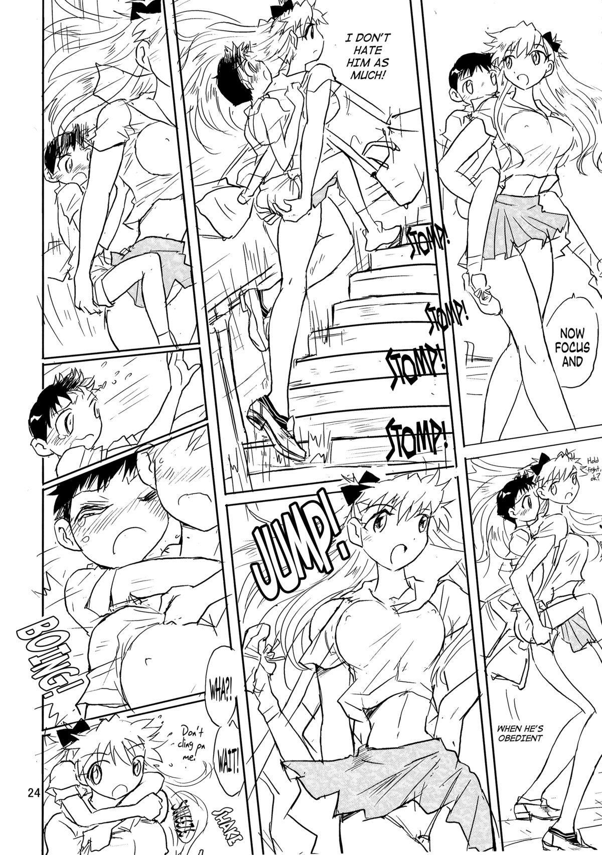(C72) [Ito Ichizo Shouten (Ito Ichizo)] Otoko no Tatakai 10 -Onnanoko wa Natsu no Kemono-   Otoko no Tatakai 10 -The Girl, a Summer Beast- (Neon Genesis Evangelion) [English] [Maipantsu] 23