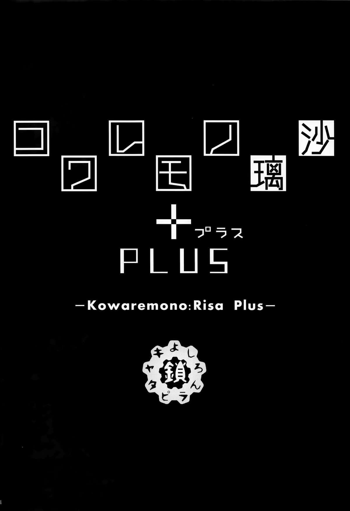 Kowaremono:Risa PLUS 3