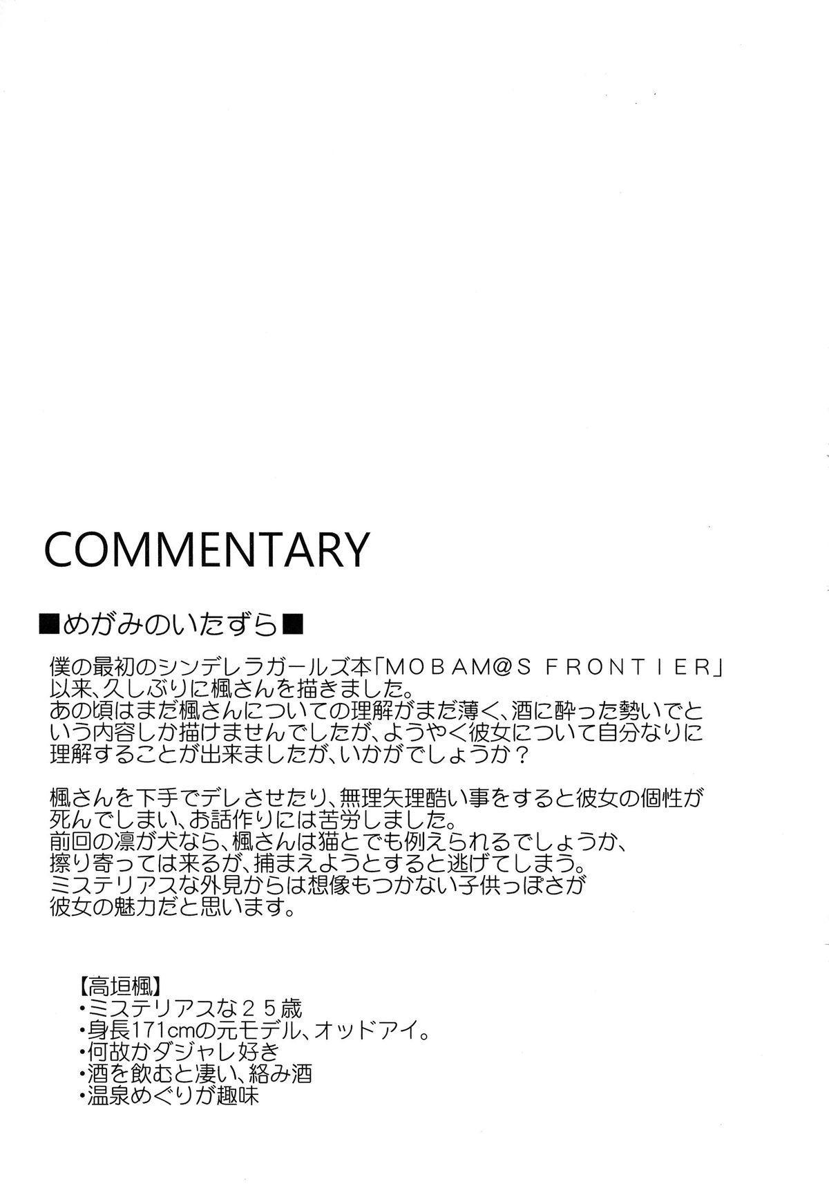 CINDERELLA ECSTASY Megami no Tawamure 23