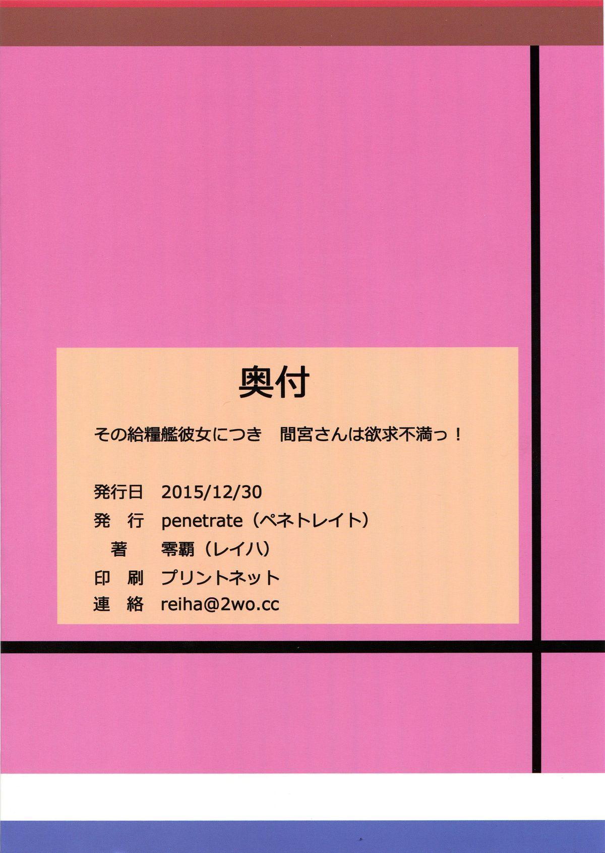 Sono Kyuuryoukan Kanojo ni Tsuki Mamiya-san wa Yokkyuufuman! 17