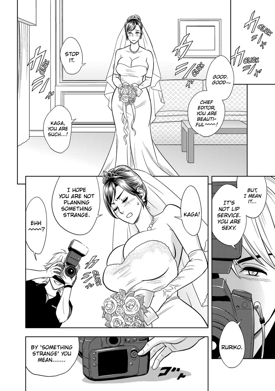 [Tatsunami Youtoku] Bijin Henshuu-chou no Hanayome Sugata | Beautiful Editor-in-Chief's Bridal Pose (COMIC Magnum X Vol. 22) [English] [Mikick+Xephir] [Digital] 5