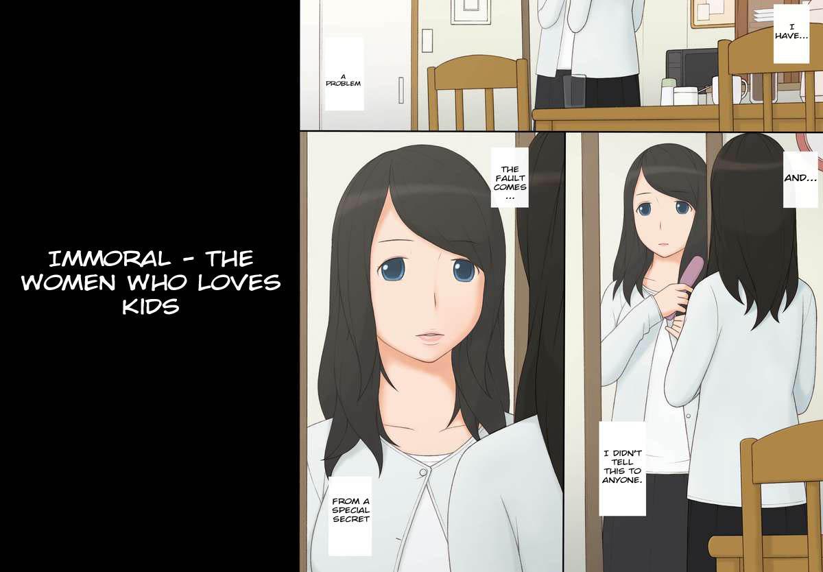 [Ponpharse] Immoral - Shounen-tachi o Aishite Shimatta Onna - | Immoral - The Woman Who Loves Kids [English] [Yanta] 2