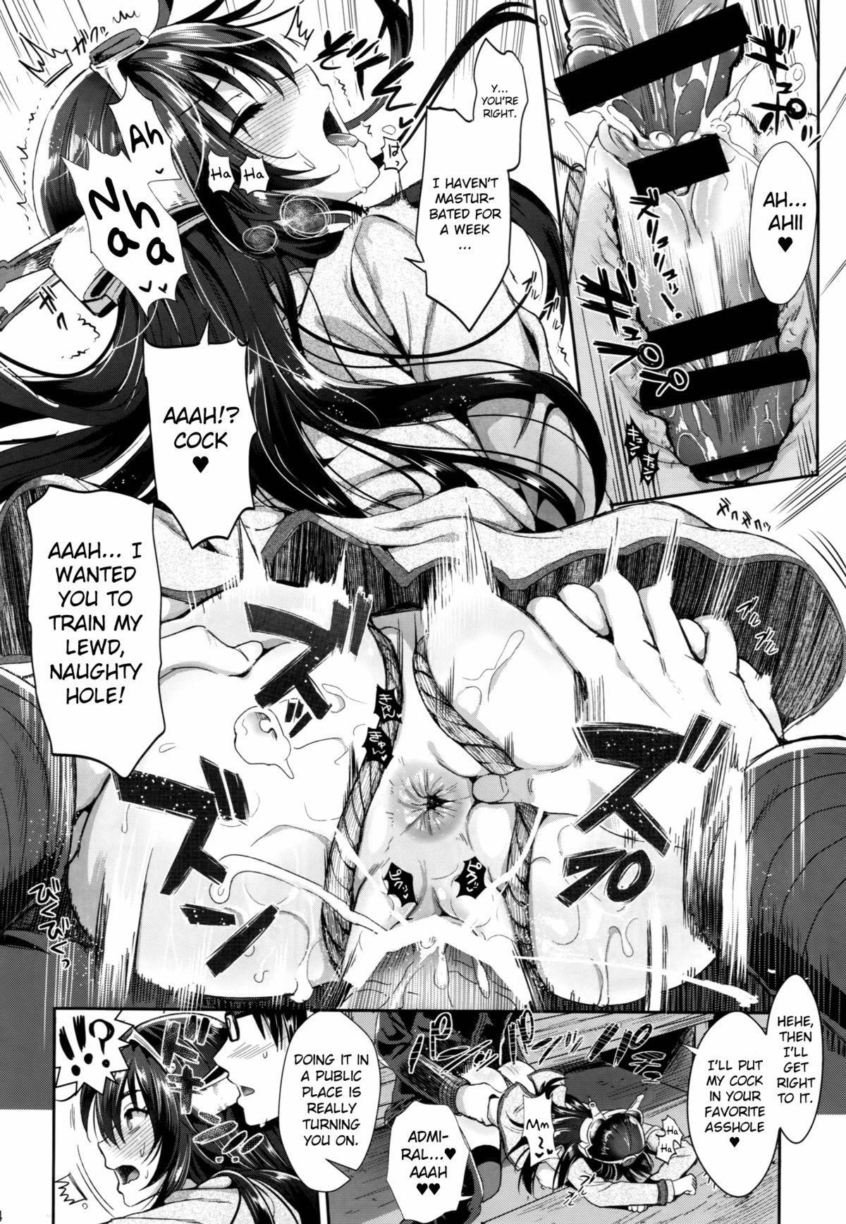 (C87) [YURIRU-RARIKA (Kojima Saya, Lazu)] Senkan Nagato to Hentai Teitoku (Sono Ni)   Battleship Nagato and Perverted Admiral (Part 2) (Kantai Collection -KanColle-) [English] [MintVoid] 12