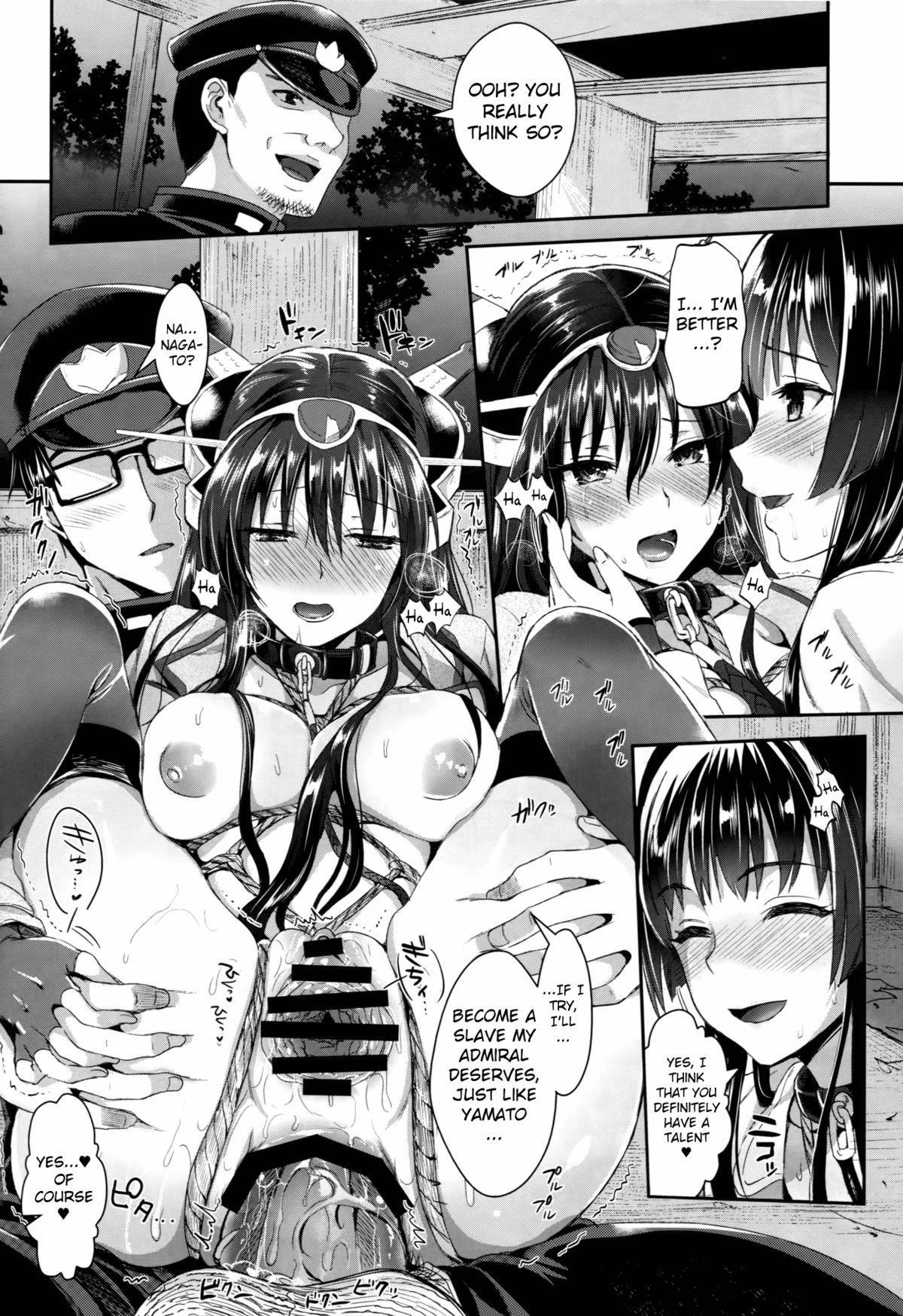 (C87) [YURIRU-RARIKA (Kojima Saya, Lazu)] Senkan Nagato to Hentai Teitoku (Sono Ni)   Battleship Nagato and Perverted Admiral (Part 2) (Kantai Collection -KanColle-) [English] [MintVoid] 20