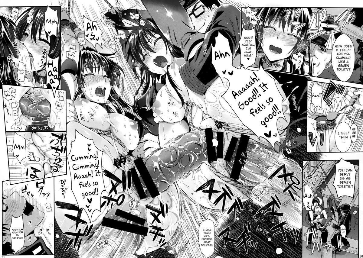 (C87) [YURIRU-RARIKA (Kojima Saya, Lazu)] Senkan Nagato to Hentai Teitoku (Sono Ni)   Battleship Nagato and Perverted Admiral (Part 2) (Kantai Collection -KanColle-) [English] [MintVoid] 28