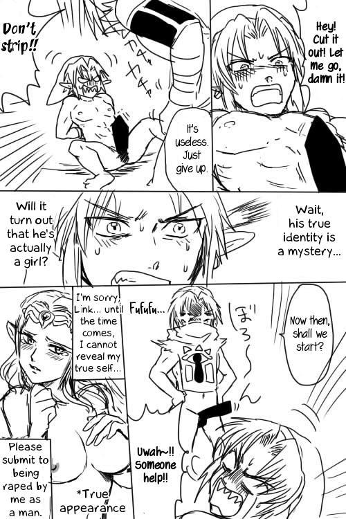 Link to Zelda ga Jun Ai Ecchi suru Manga 5