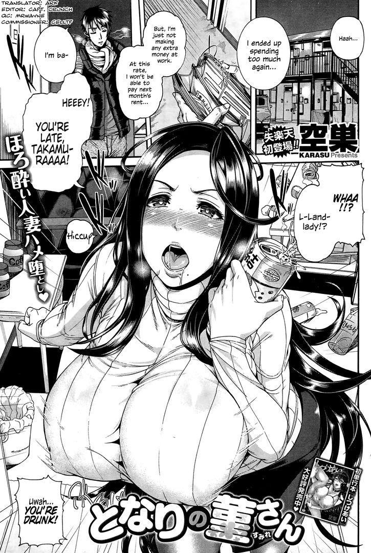 [Karasu] Tonari no Sumire-san   My Neighbor Sumire-san (COMIC Shitsurakuten 2015-02) [English] 0