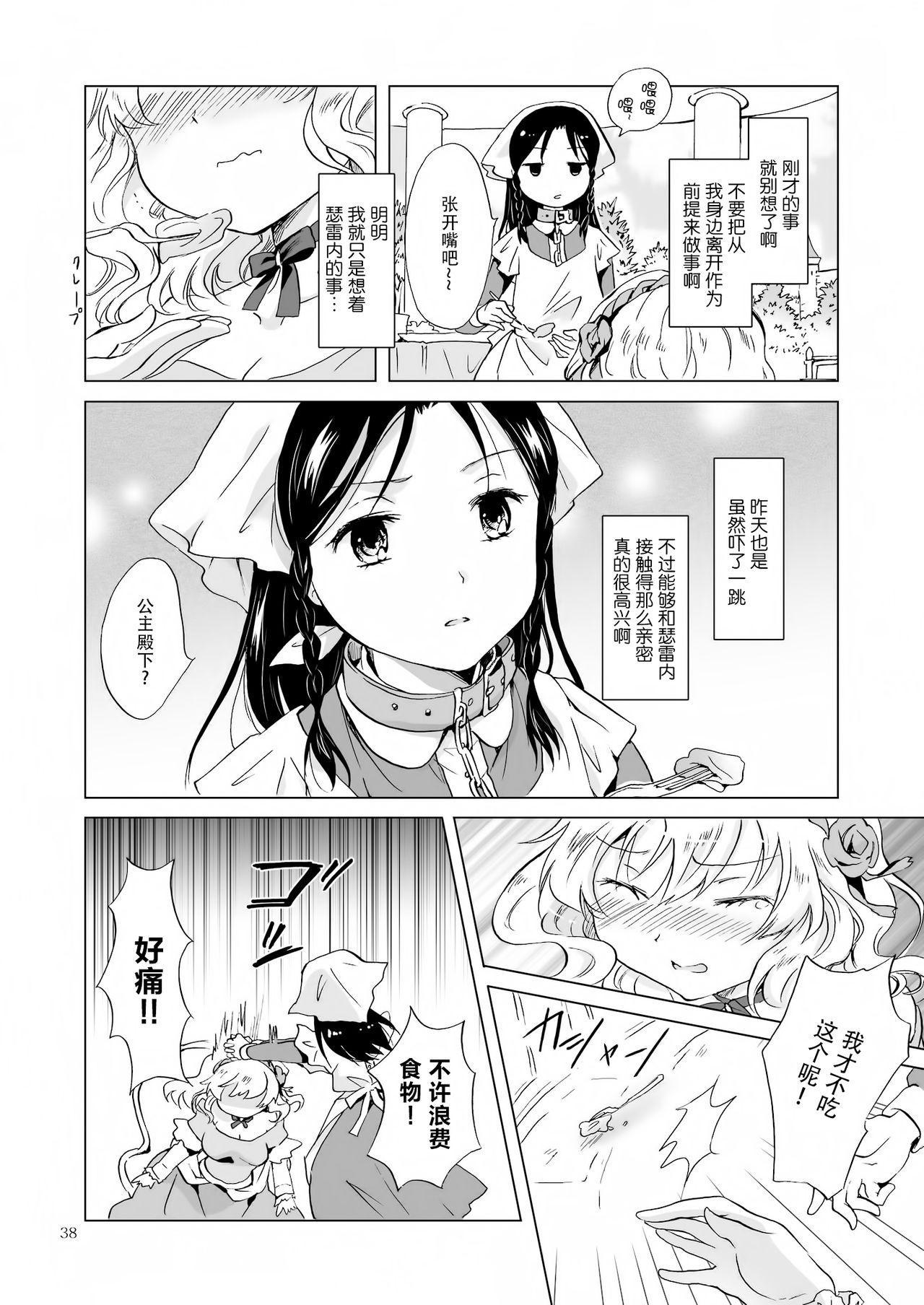 [peachpulsar (Mira)] Hime-sama to Dorei-chan [Chinese] [脸肿汉化组] [Digital] 37