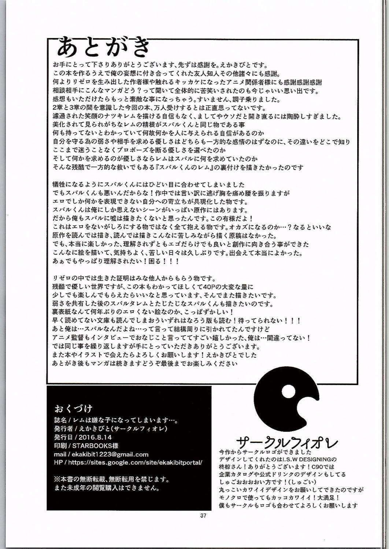 Rem wa Iya na Ko ni Natte Shimaimasu.... 35
