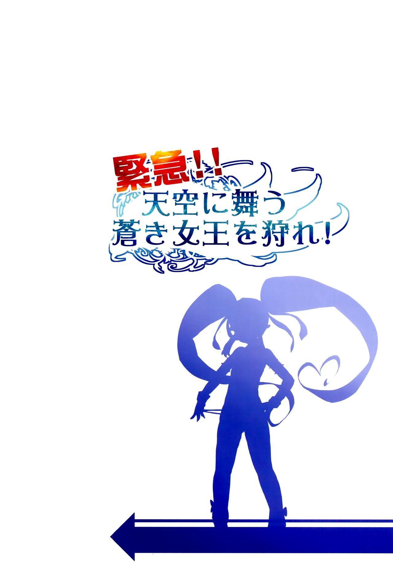 Kinkyuu!! Tenkuu ni Mau Aoki Joou wo Kare! 25