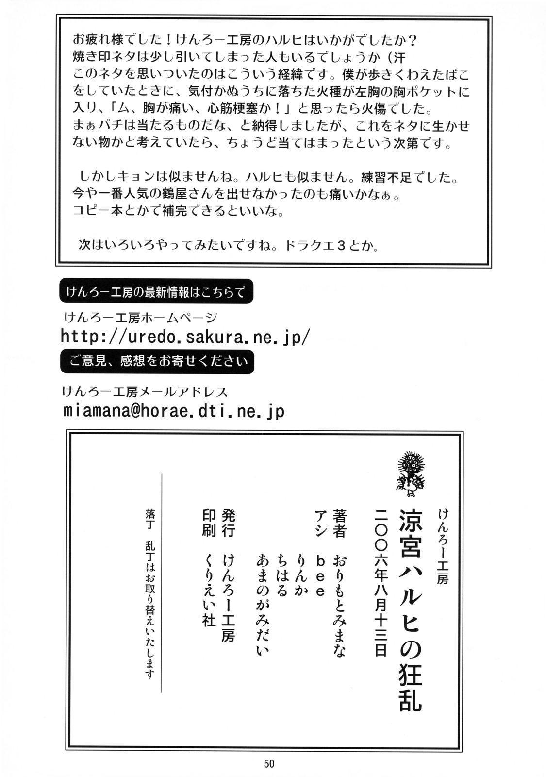 Suzumiya Haruhi no Kyouran 48