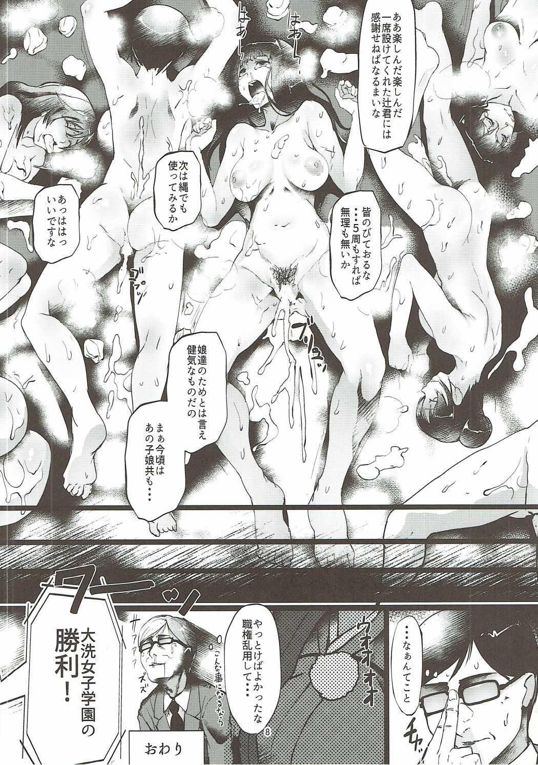 Girls & Panzer Toshima Goudou 6