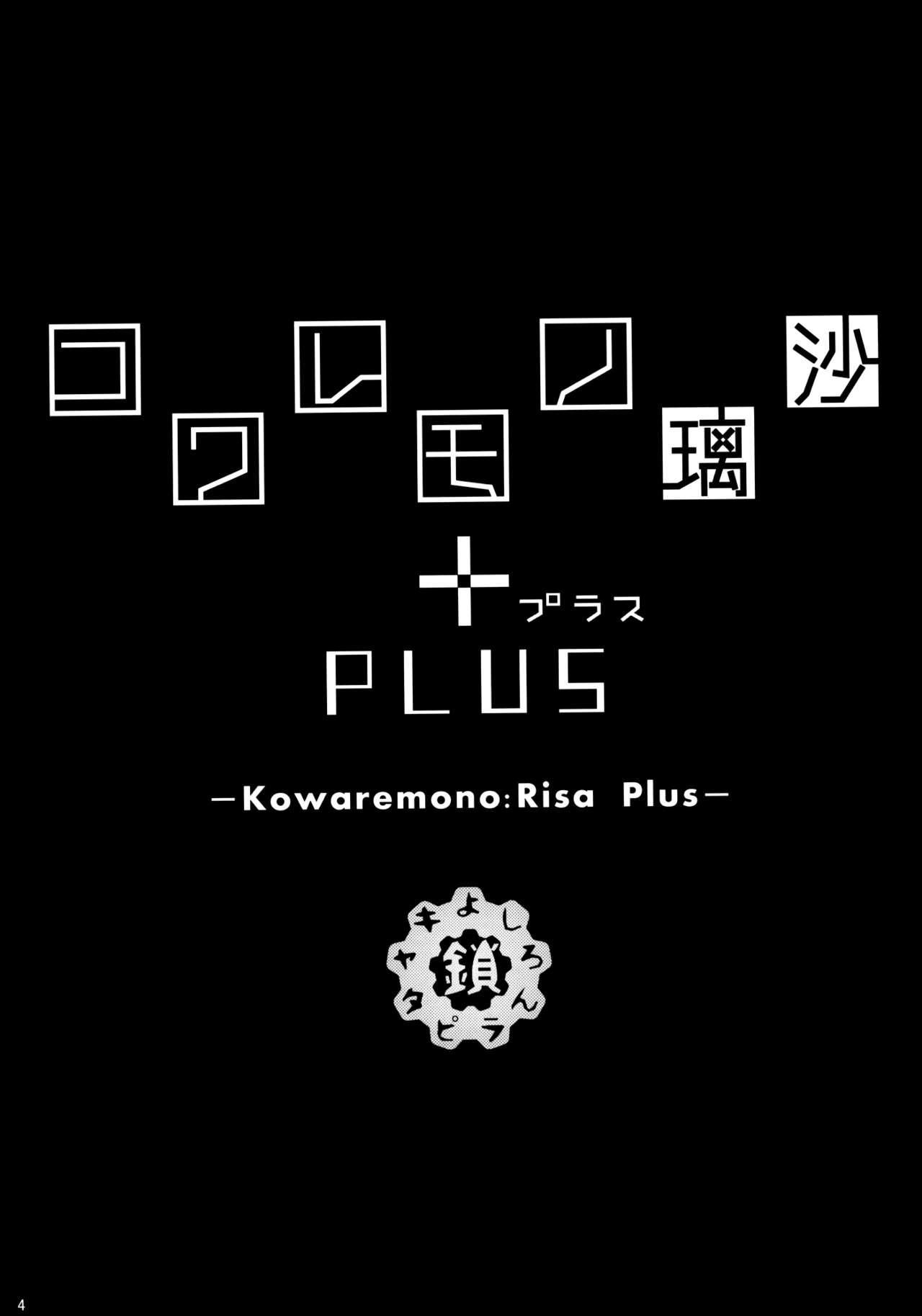 Kowaremono:Risa PLUS + Paper 2