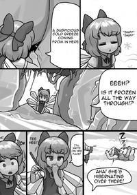 Chinko Cirno x Futsuu Letty no Suikan Manga 2