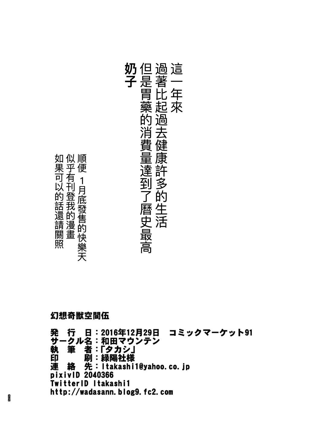 Gensou Kijuu Kuukan Go 19