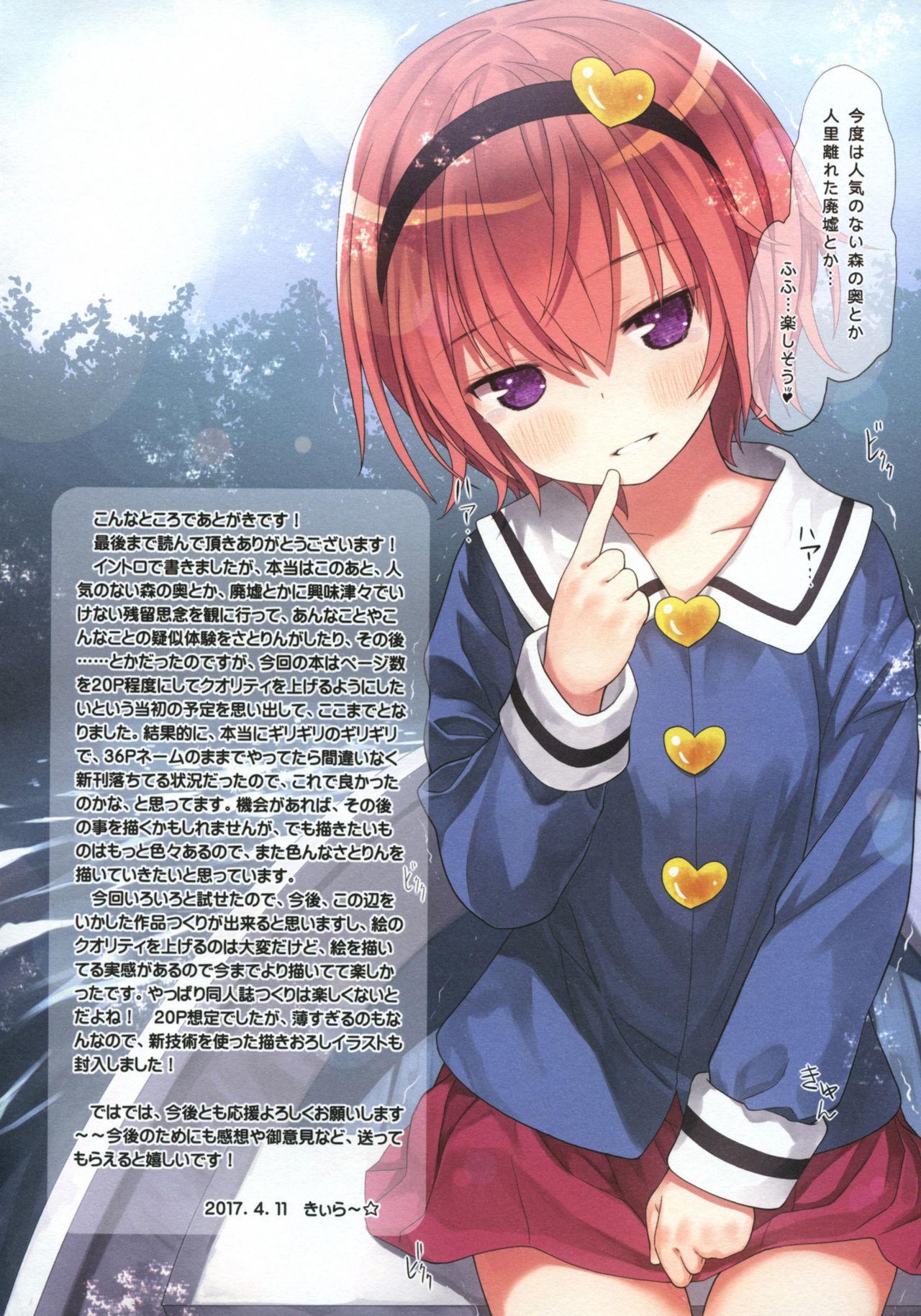 Komeiji Satori no Psychometry 16