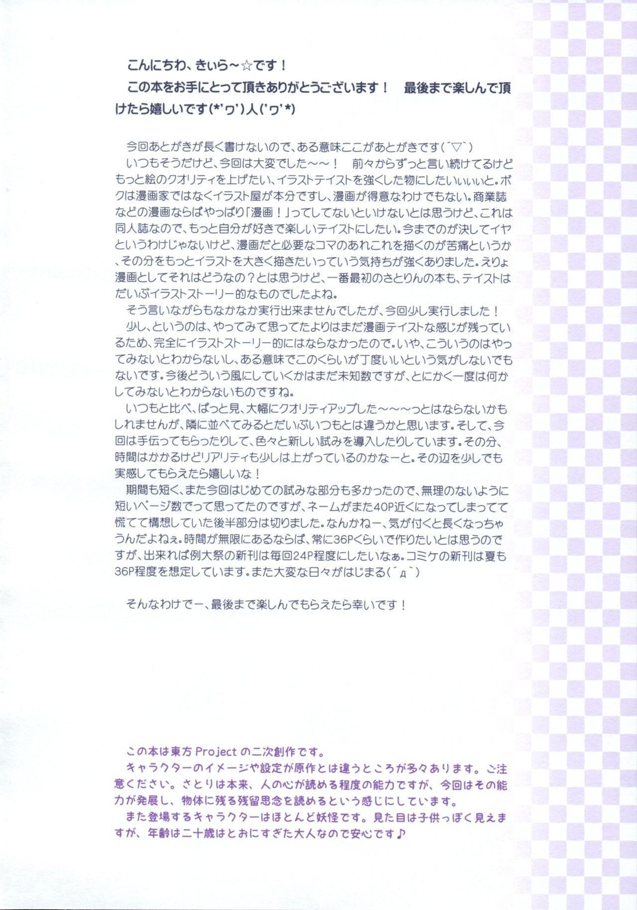 Komeiji Satori no Psychometry 2