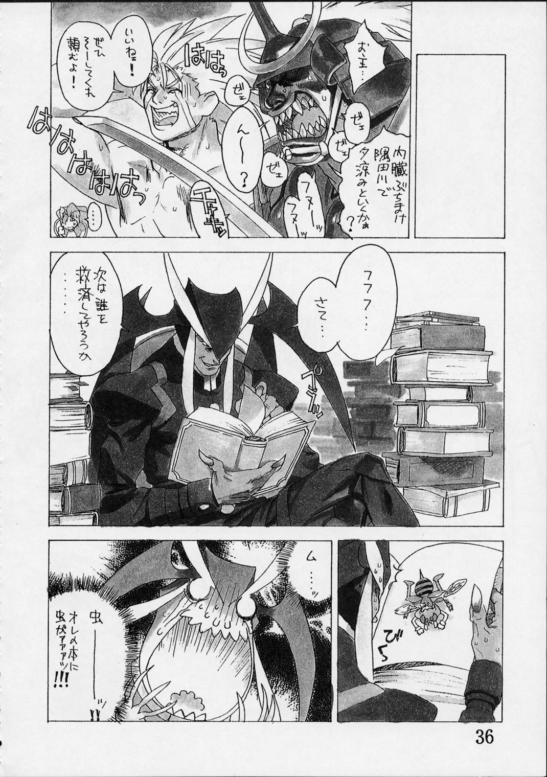 Shunkashuutou Vol.01 34