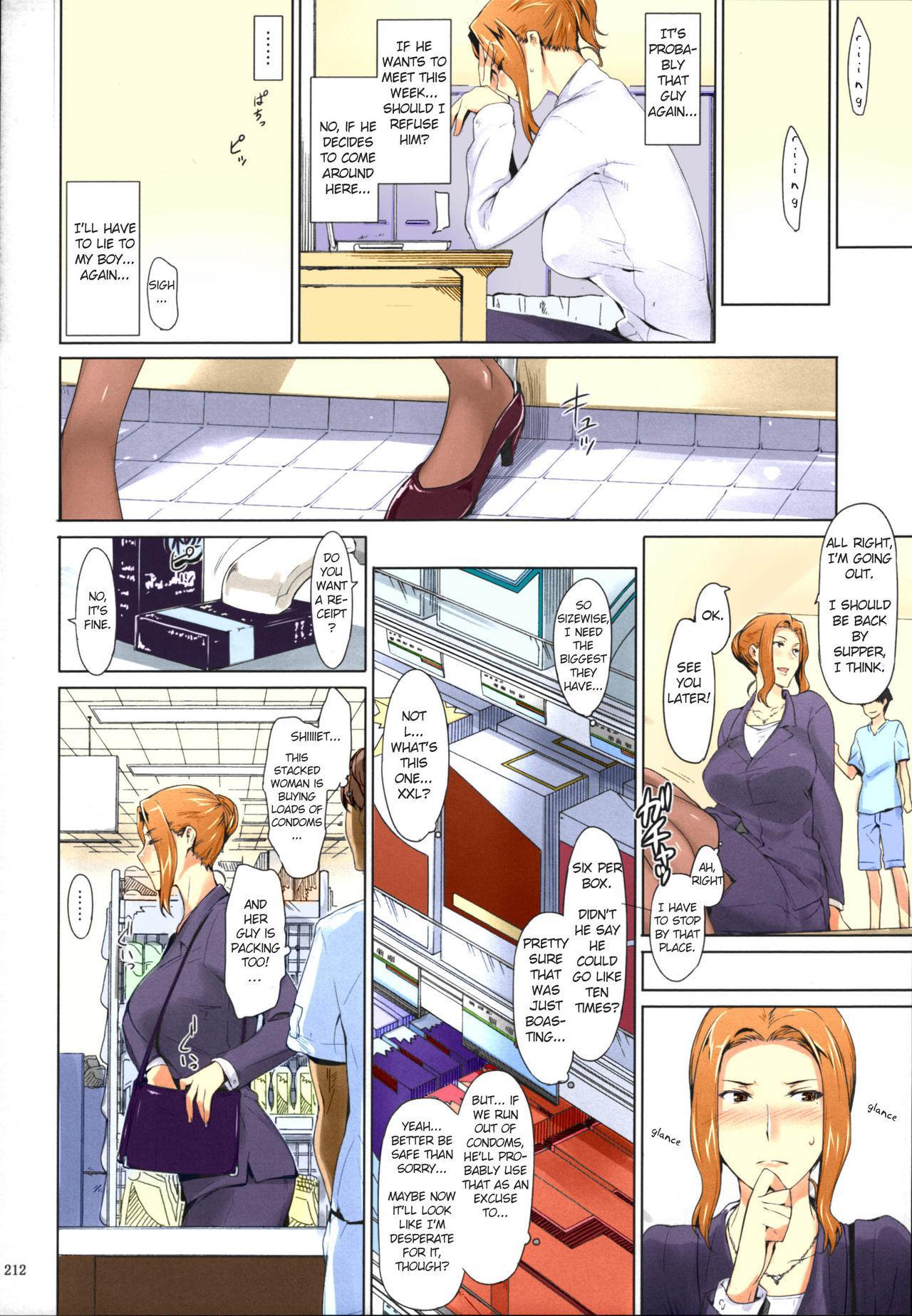 (C86) [MTSP (Jin)] Tachibana-san-chi no Dansei Jijou Matome Ban [English] [Colorized] 209
