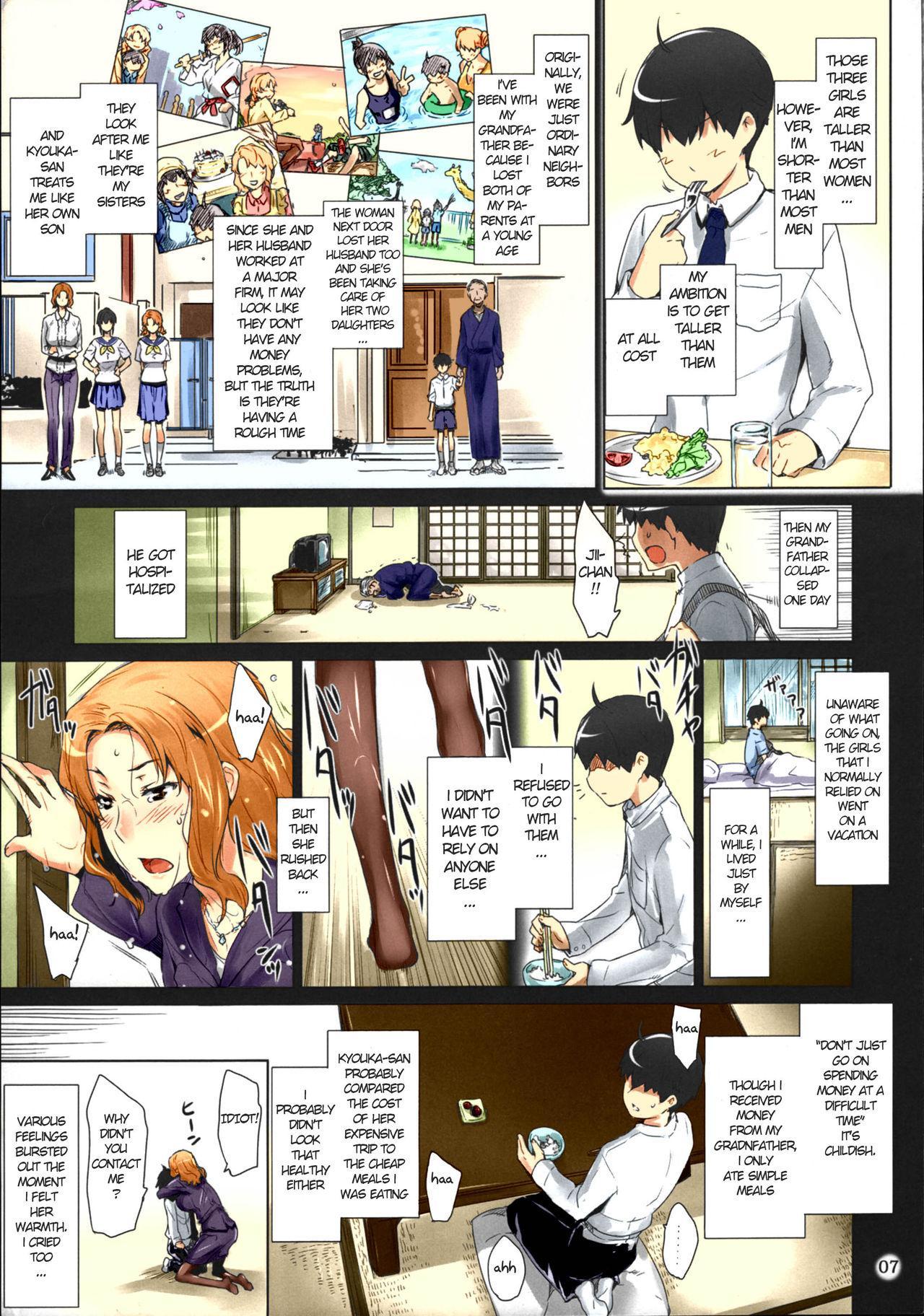 (C86) [MTSP (Jin)] Tachibana-san-chi no Dansei Jijou Matome Ban [English] [Colorized] 6