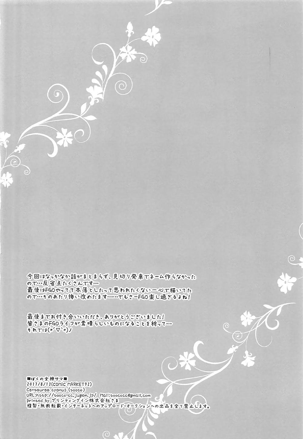 Boku no Megami-sama & C.C. Collection 2017 Summer 12