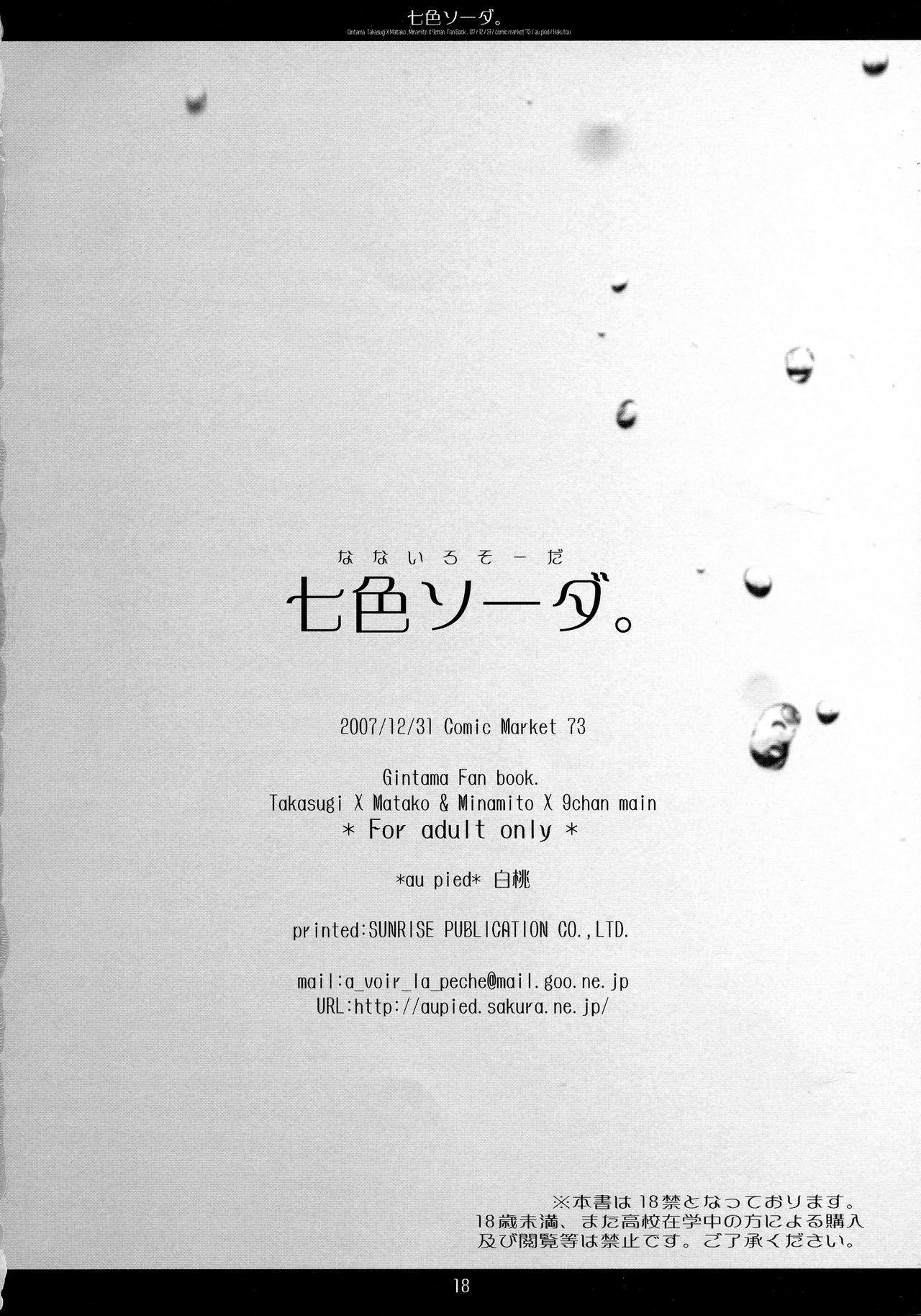 Nanairo Soda. 10
