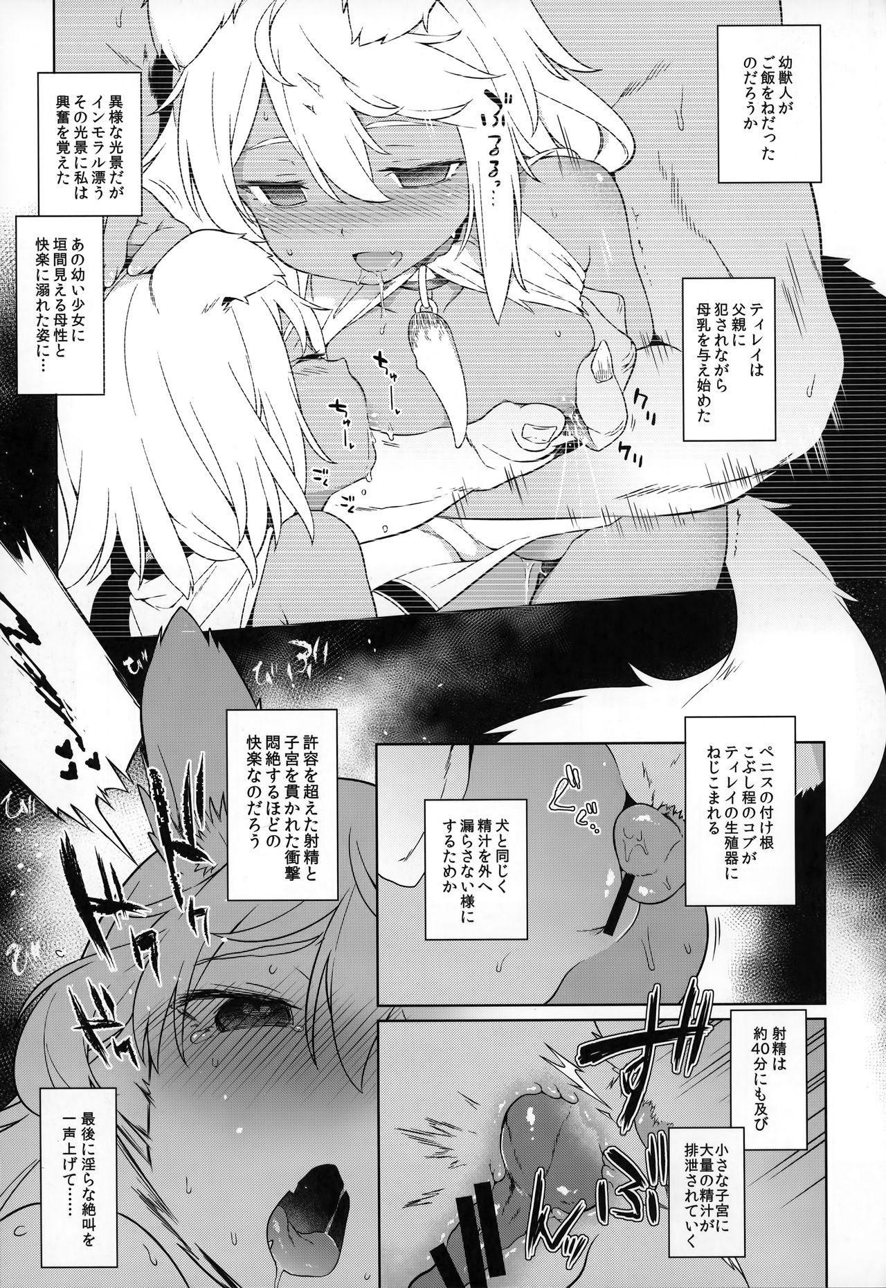 Juujin Seitai Kansatsu Kiroku 13