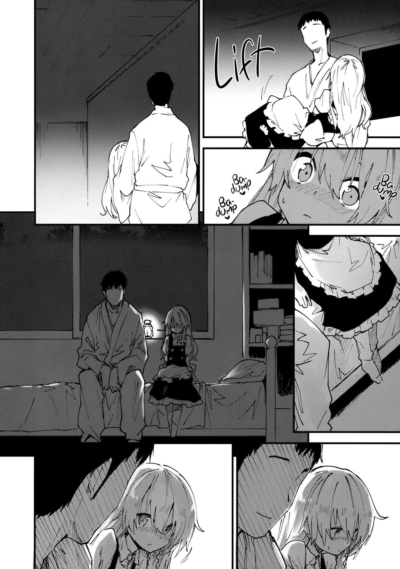 Marisa-chan to Sukebe Suru Hon   Going lewd with Marisa 4