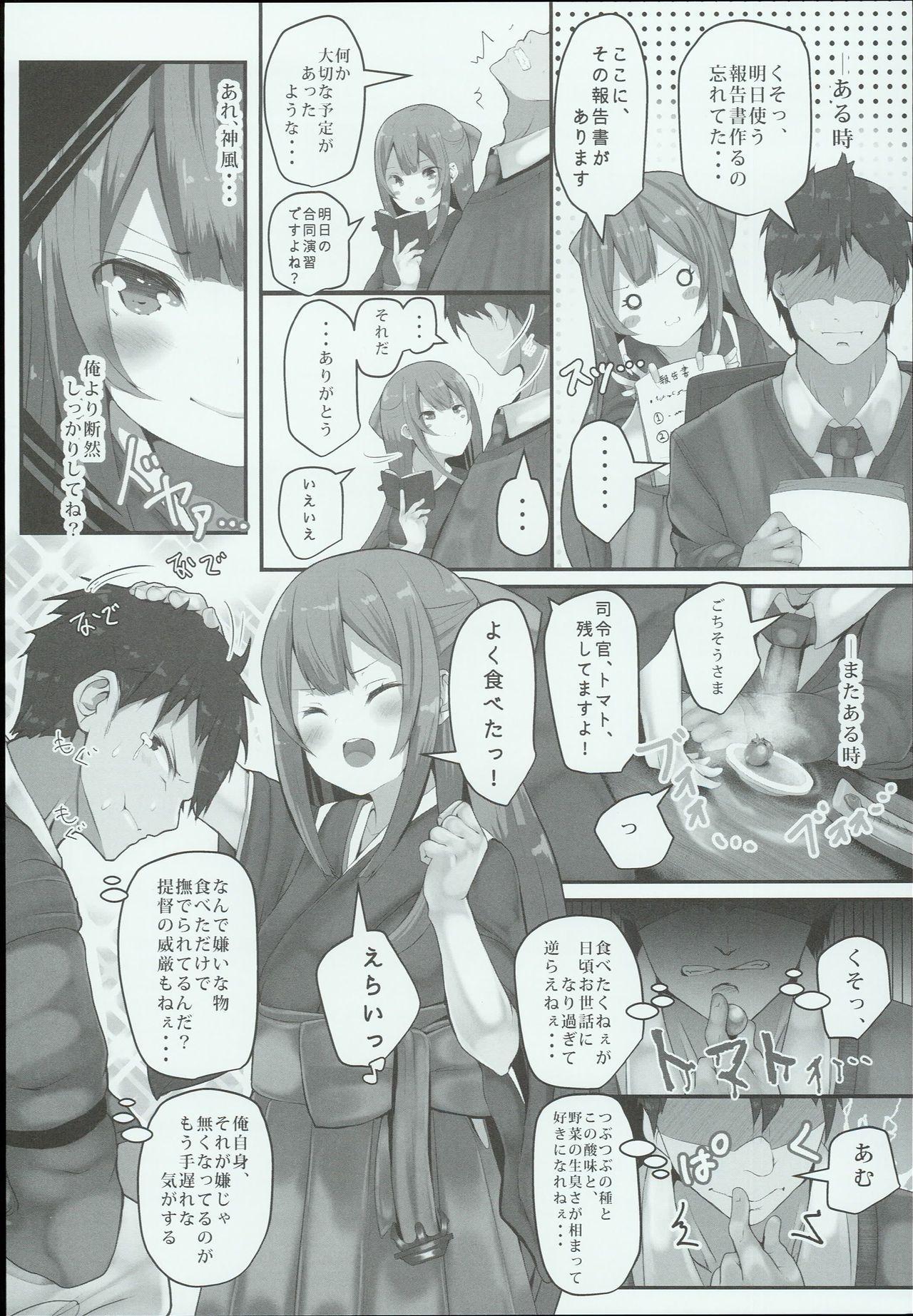 Kamikaze-chan wa Osewa Shitai 5