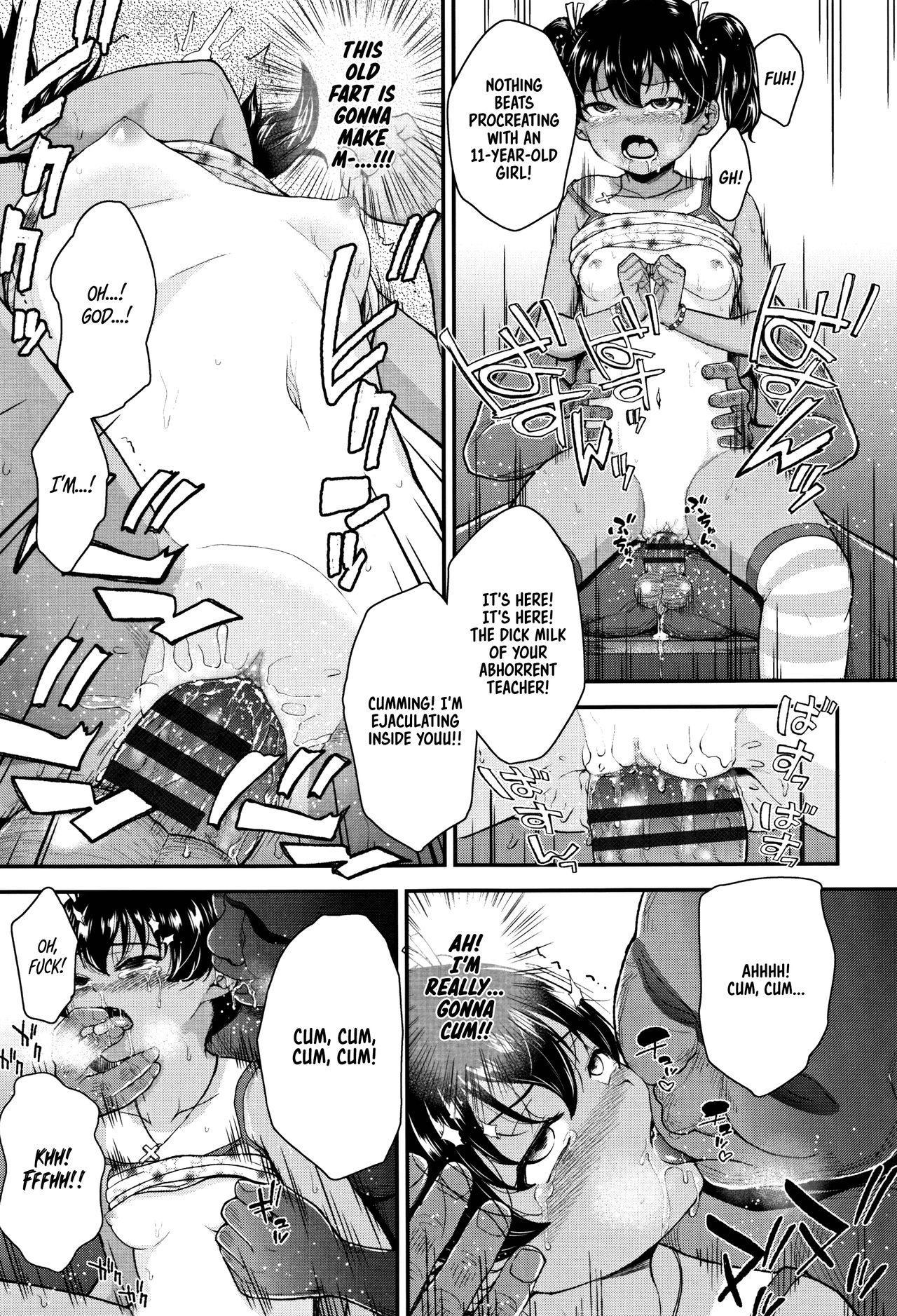 Mesugaki dakedo Hatsuiku ii node Semen Kyouiku Shitemita 28