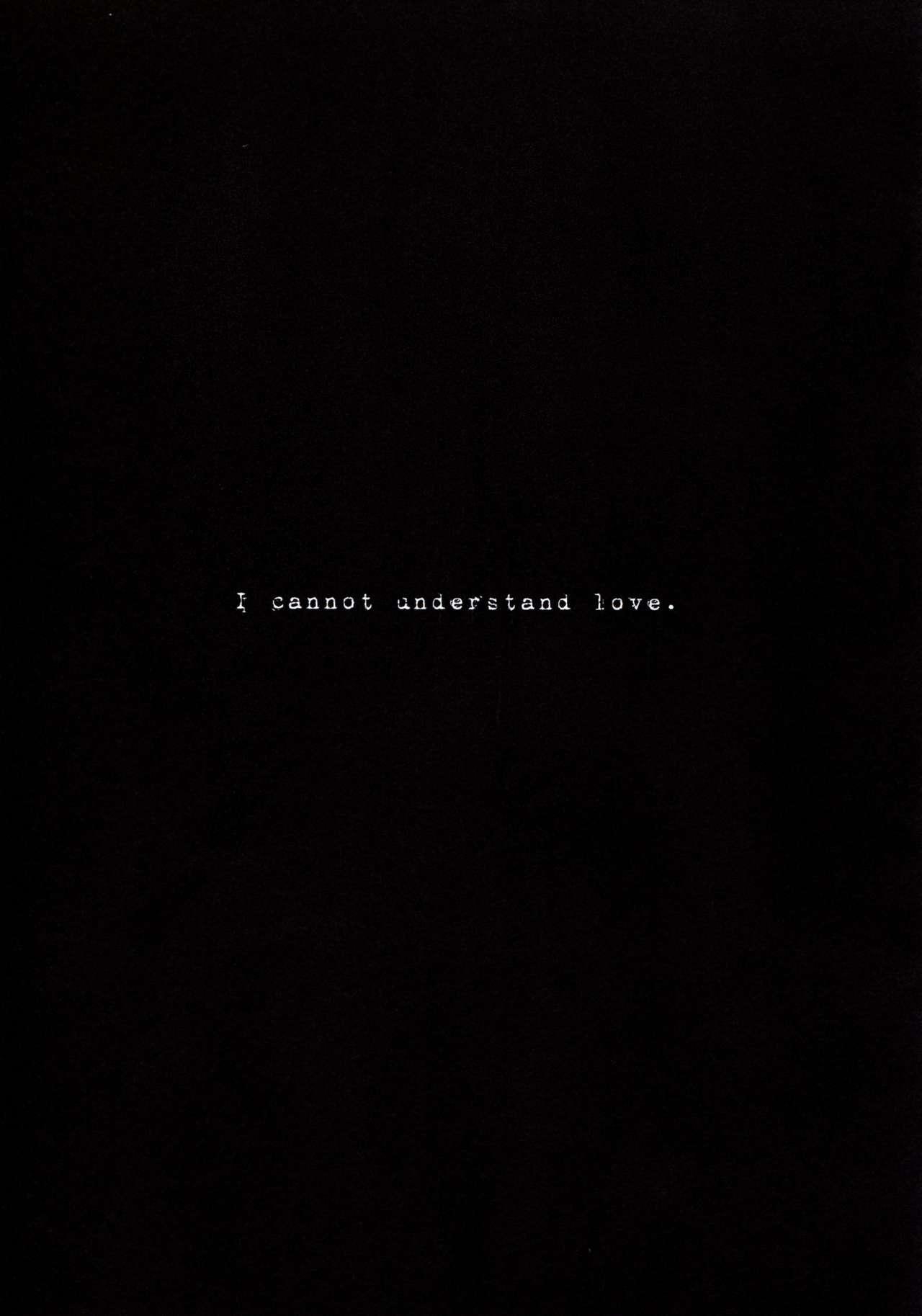 understand love. 24