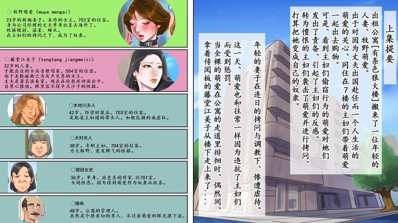 Dorei Shiiku Mansion 2 Joou Goukyuu Sekkan Hen   奴隷飼育公寓2・女王号泣折槛编 1