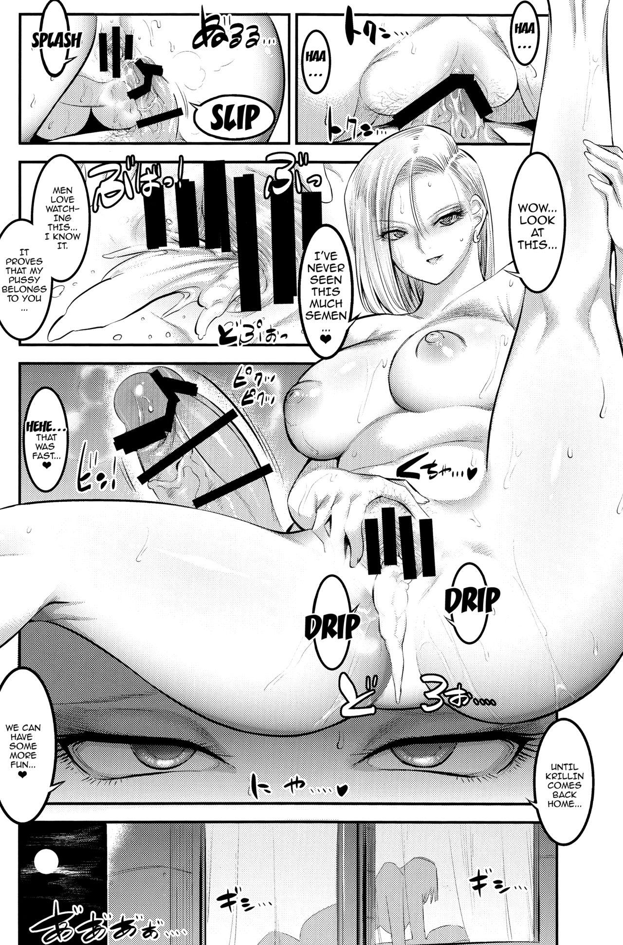A Story About How Android 18 Squeezes Me Dry Everyday 20