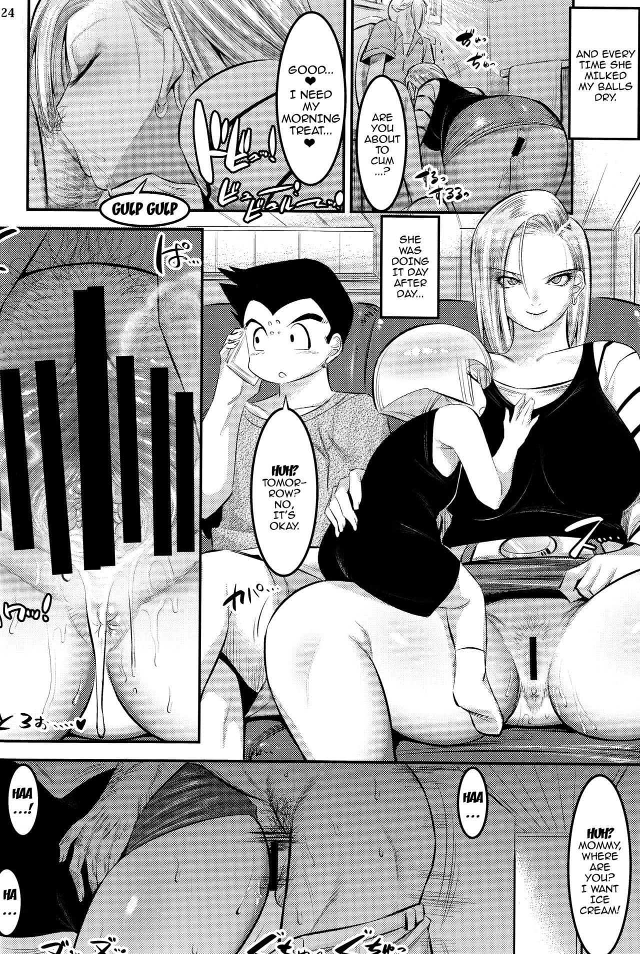 A Story About How Android 18 Squeezes Me Dry Everyday 22