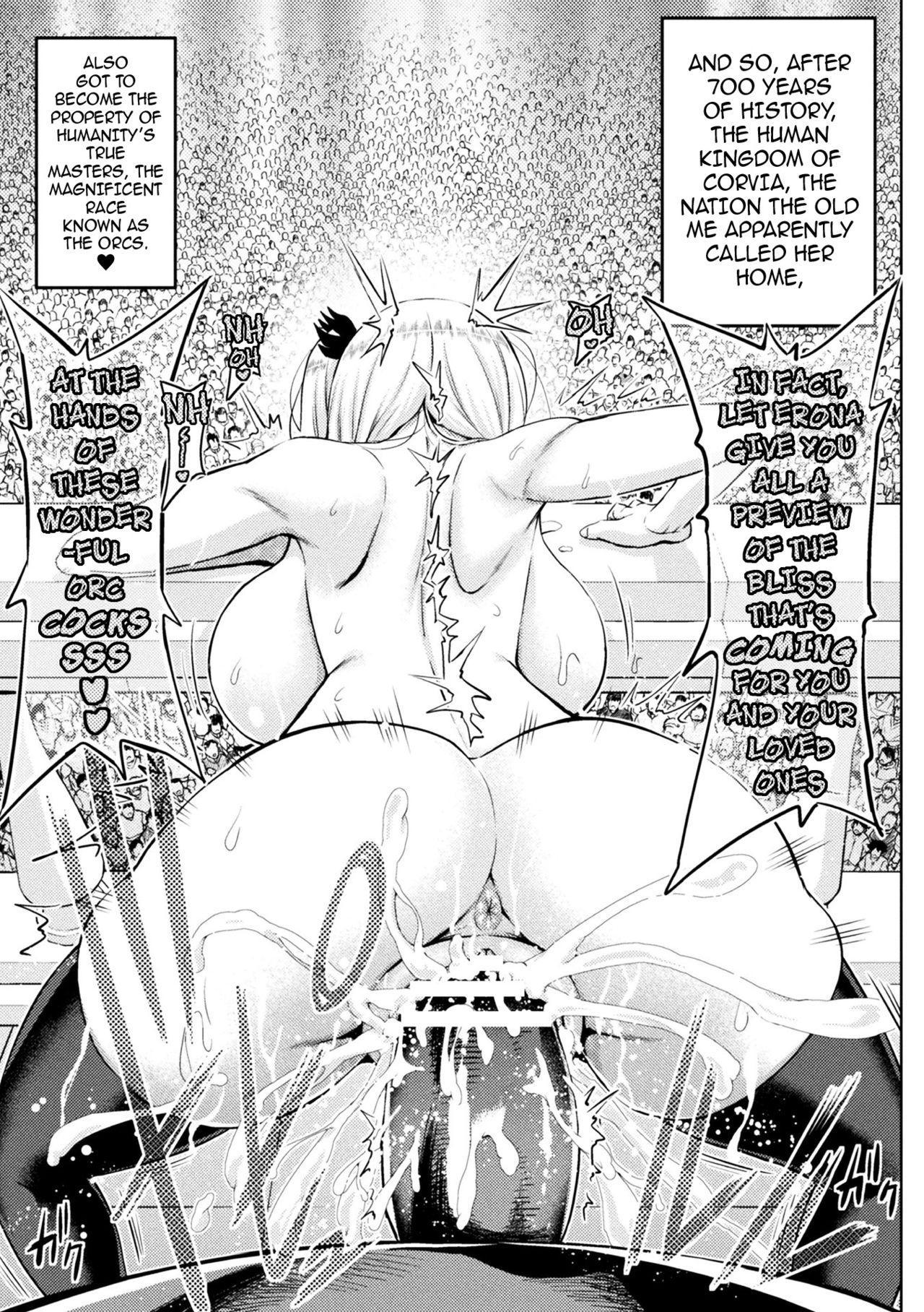 [Yamada Gogogo] Erona ~Orc no Inmon ni Okasareta Onna Kishi no Matsuro~ | Erona ~The Fall of a Beautiful Knight Cursed with the Lewd Mark of an Orc~ Ch. 1-5 [English] {darknight} 103