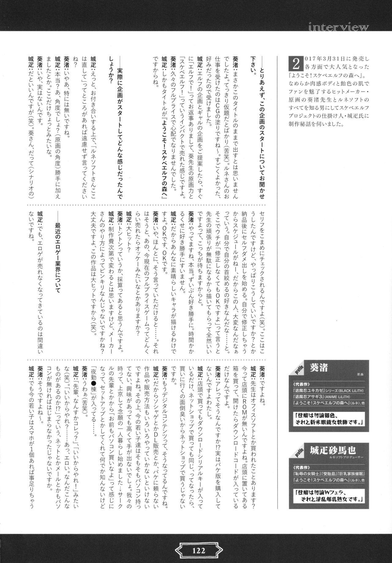 Youkoso! Sukebe Elf no Mori e Visual Fanbook 123