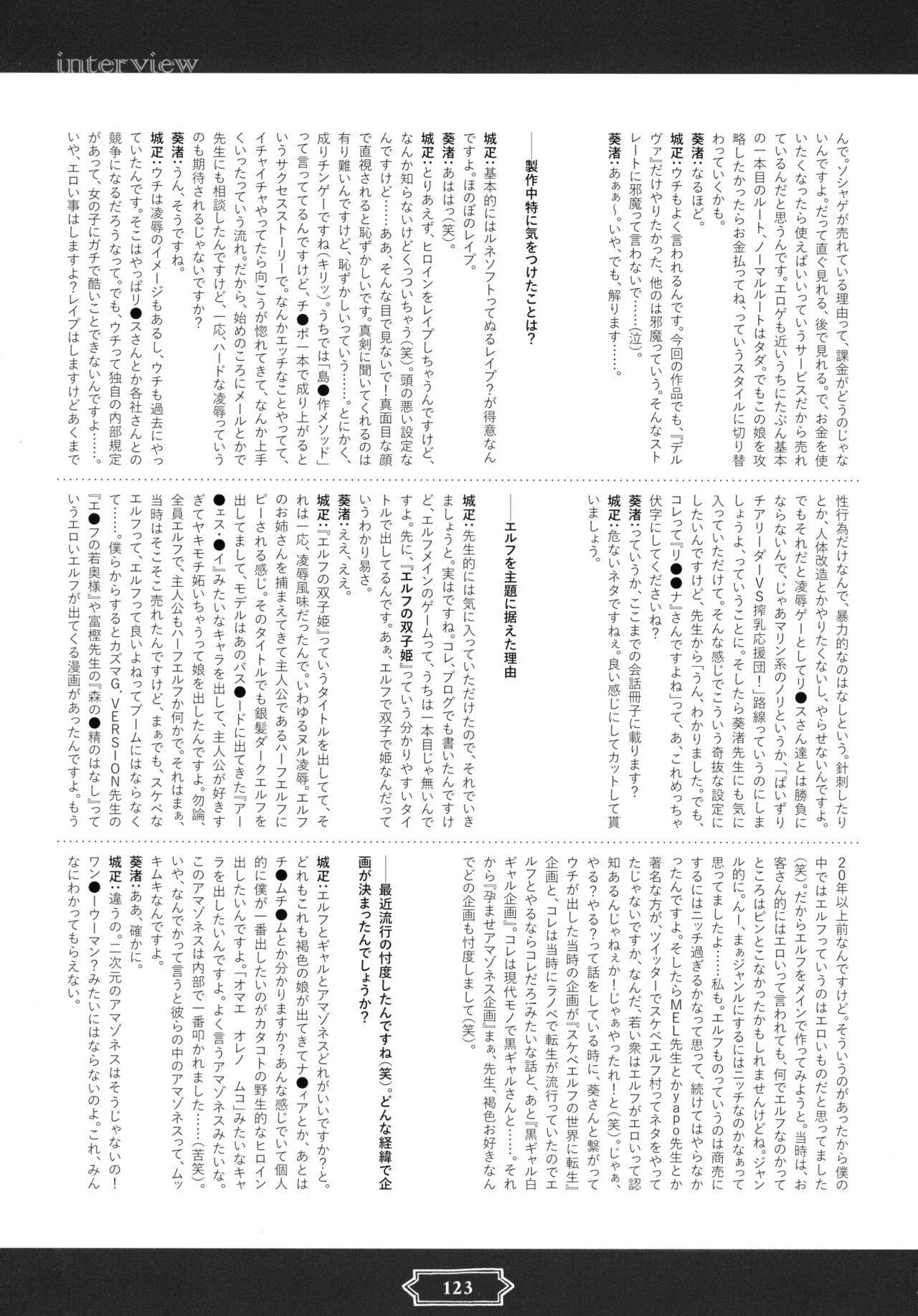 Youkoso! Sukebe Elf no Mori e Visual Fanbook 124