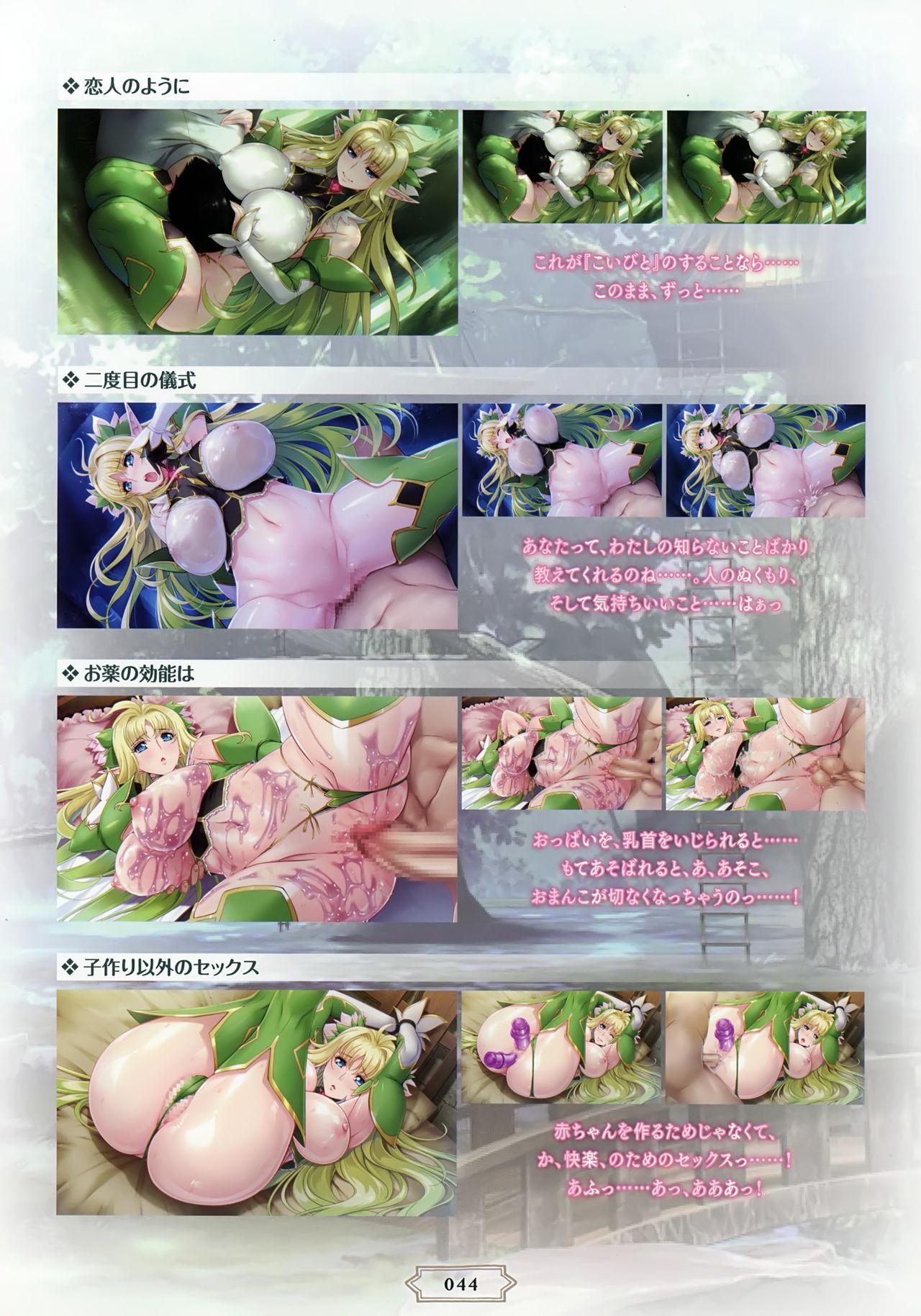 Youkoso! Sukebe Elf no Mori e Visual Fanbook 46