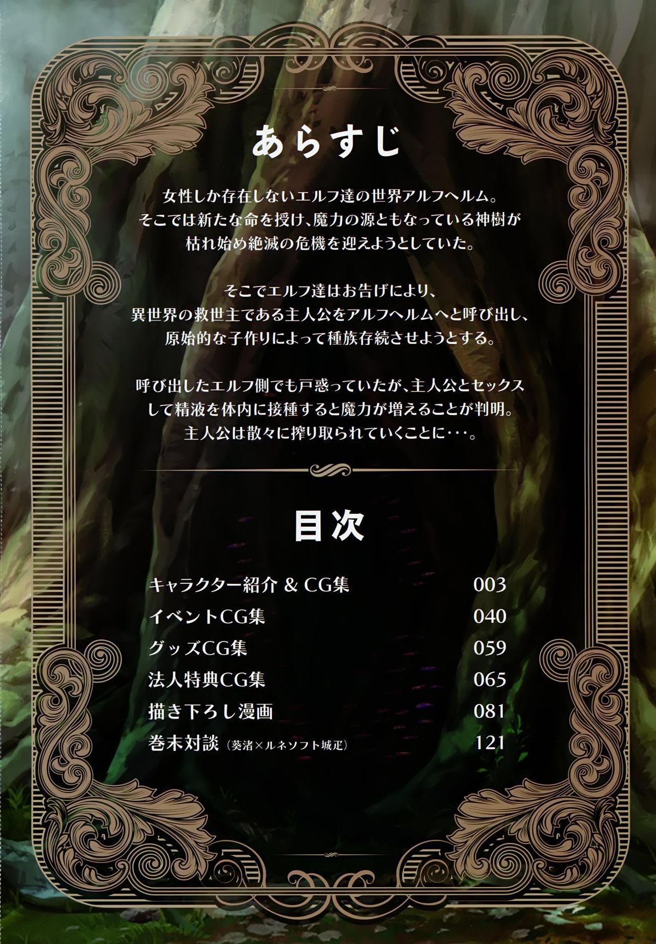 Youkoso! Sukebe Elf no Mori e Visual Fanbook 4