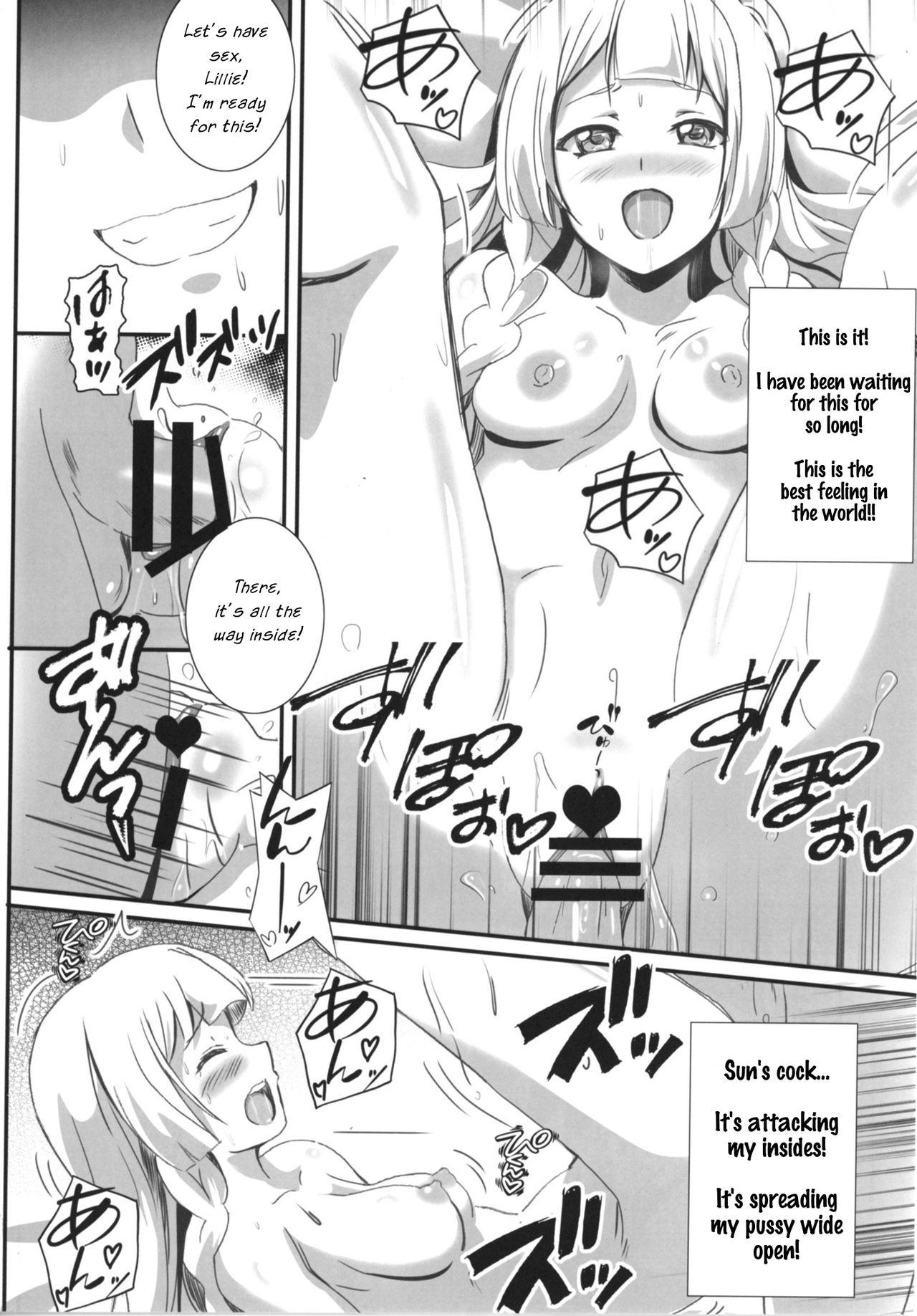 Lillie-chan no H na Nichijou 9